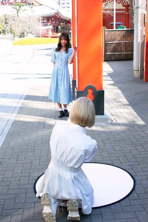 #2i2 青木りさ&奥ゆい((c)月刊エンタメ 撮影:佐賀章広)