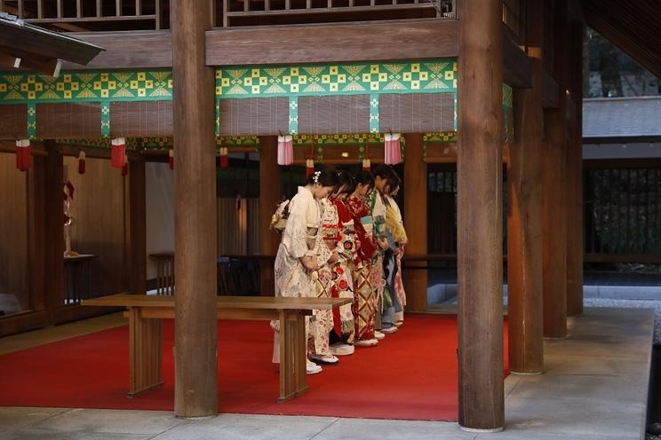 乃木坂46成人式|東京・乃木神社(2019年1月11日)