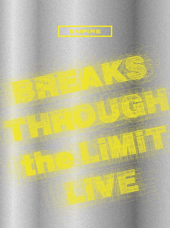 『EMPiRE BREAKS THROUGH the LiMiT LiVE』初回生産限定盤