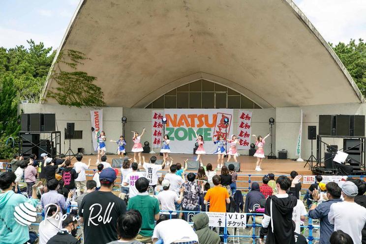 アップアップガールズ(2)<NATSUZOME2021>(2021年4月3日(土)/稲毛海浜公園野外音楽堂)