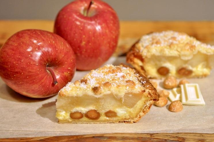 「マカダミアナッツとホワイトチョコのアップルパイ ~Nuts Lover Vintage~」