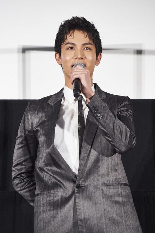 中川大志<映画『砕け散るところを見せてあげる』公開記念舞台挨拶>新宿ピカデリー(2021年4月10日)