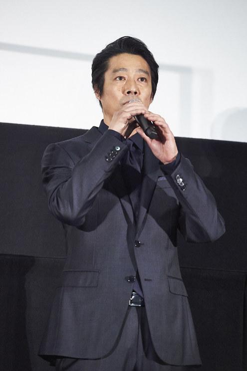 堤真一<映画『砕け散るところを見せてあげる』公開記念舞台挨拶>新宿ピカデリー(2021年4月10日)
