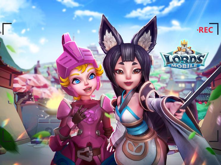 世界同時対戦RPG『ロードモバイル』