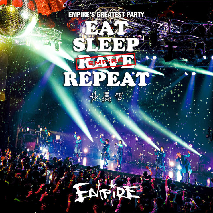 『EMPiRE'S GREATEST PARTY-EAT SLEEP EMPiRE REPEAT-(Video Album)』ジャケット写真