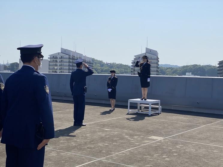 神奈川県金沢警察署訪問の様子