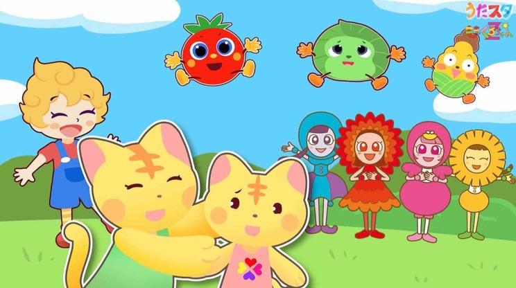 動画「【ももクロちゃんZ × うたスタ】童謡『いぬのおまわりさん』(「とびだせ!ぐーちょきぱーてぃー」より)」より