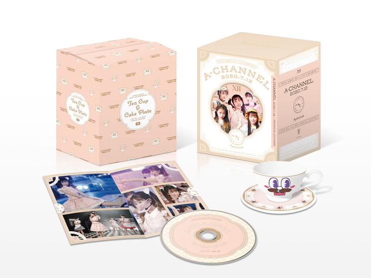 【Blu-ray BOX】ANGEL EYES限定版『A-CHANNEL』【配信LIVE Blu-ray】展開図