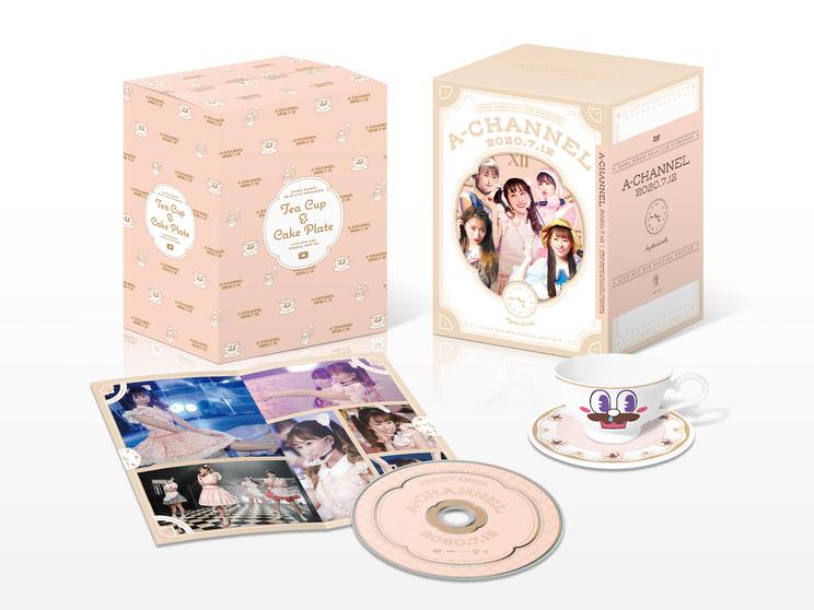 【DVD BOX】ANGEL EYES限定版『A-CHANNEL』【配信LIVE DVD】展開図