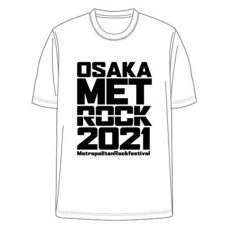 <METROCK2021>オフィシャルTシャツ((C)AbemaTV, Inc.)