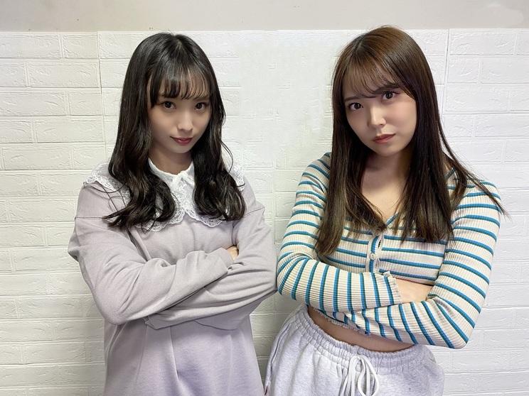 白間美瑠、梅山恋和(©NMB48)
