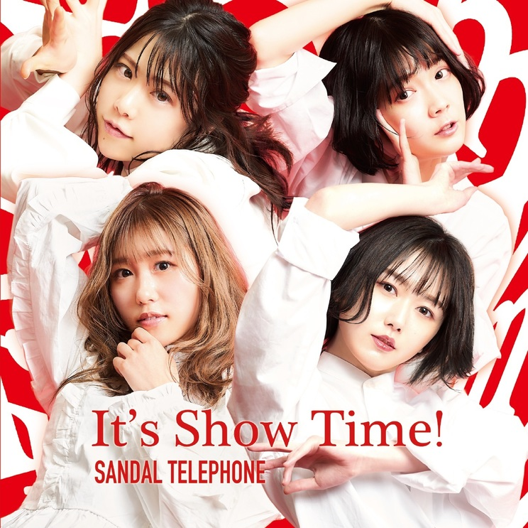 2nd EP『碧い鏡/It's Show Time!』Type-REDジャケット写真