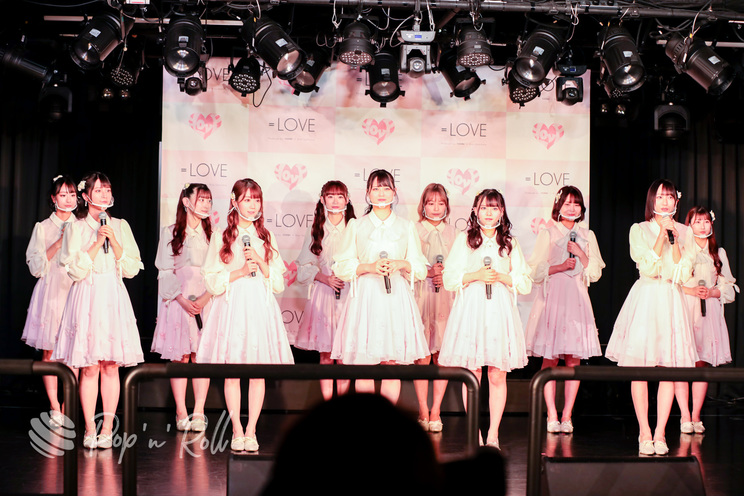 =LOVE<1stアルバム『全部、内緒。』発売 記者発表会>代アニライブステーション(2021年5月18日)