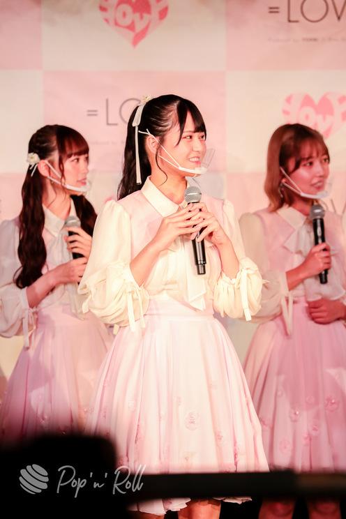 髙松瞳(=LOVE)<1stアルバム『全部、内緒。』発売 記者発表会>代アニライブステーション(2021年5月18日)