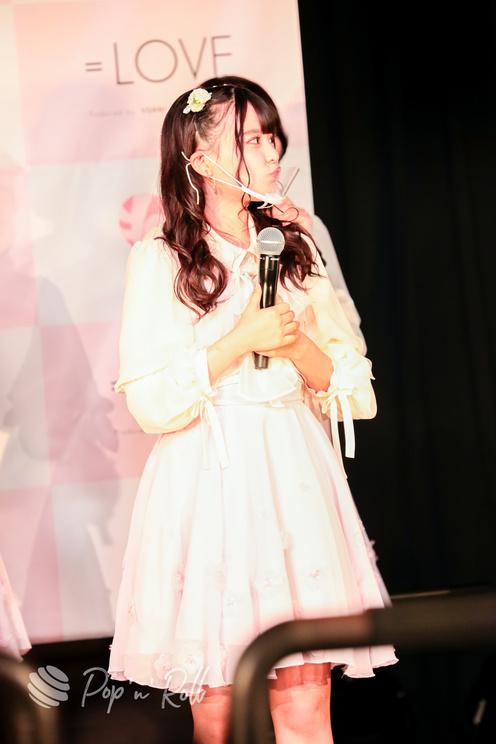齊藤なぎさ(=LOVE)<1stアルバム『全部、内緒。』発売 記者発表会>代アニライブステーション(2021年5月18日)