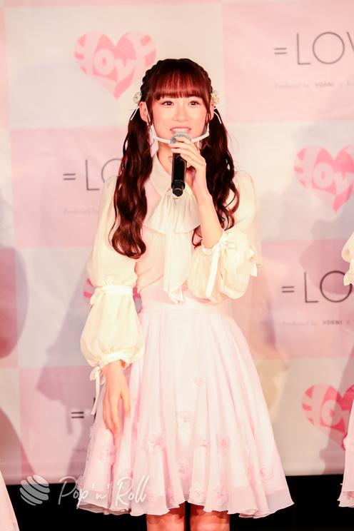 音嶋莉沙(=LOVE)<1stアルバム『全部、内緒。』発売 記者発表会>代アニライブステーション(2021年5月18日)