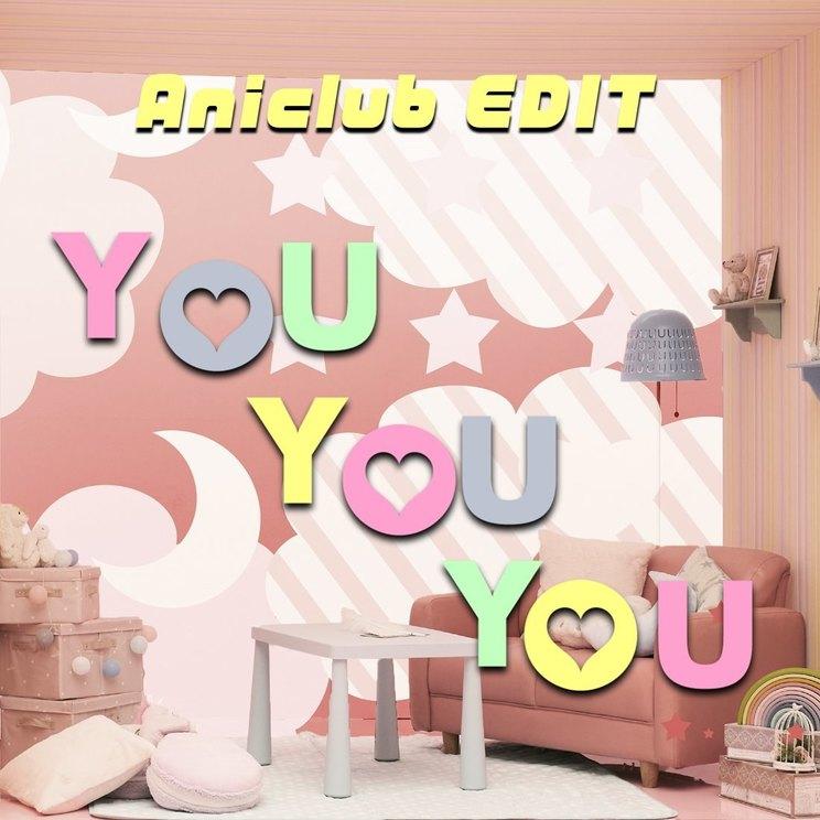 「YOU YOU YOU(Aniclub EDIT)」ジャケット