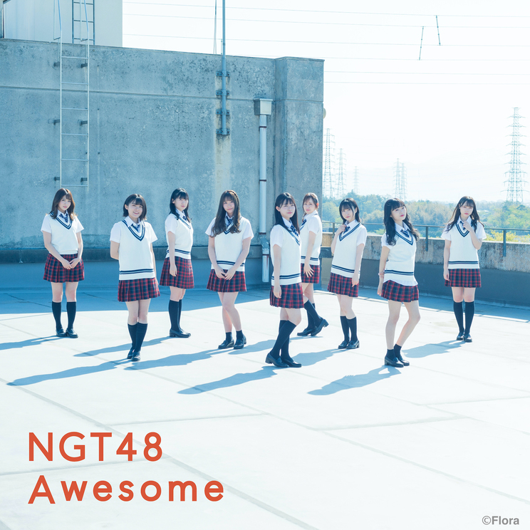 6thシングル「Awesome」[通常盤]Type A(©Flora)