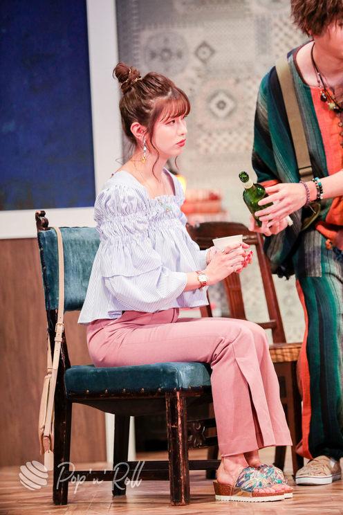 谷川愛梨(元NMB48)舞台<まわれ!無敵のマーダーケース!!>ゲネプロ公演(2021年5月26日/銀座 博品館劇場)