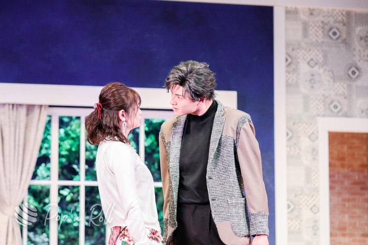 西葉瑞希、小南光司 舞台<まわれ!無敵のマーダーケース!!>ゲネプロ公演(2021年5月26日/銀座 博品館劇場)