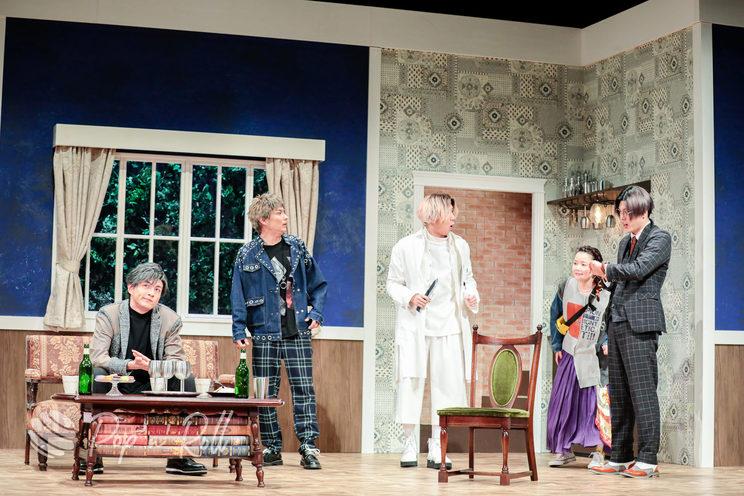 舞台<まわれ!無敵のマーダーケース!!>ゲネプロ公演(2021年5月26日/銀座 博品館劇場)