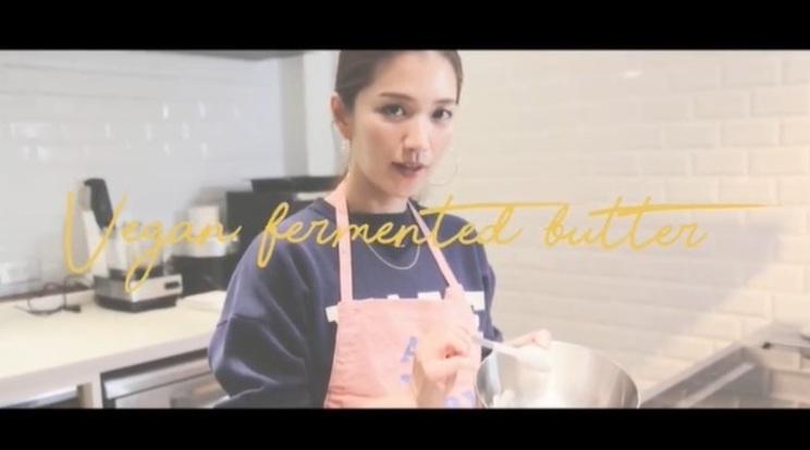 動画「【料理】自家製ヴィーガン発酵バターの作り方を紹介します」より
