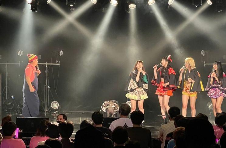 <戦国アニマル極楽浄土 無料単独公演「ドリンク代だけ持ってきな」>新宿BLAZE(2021年6月8日)