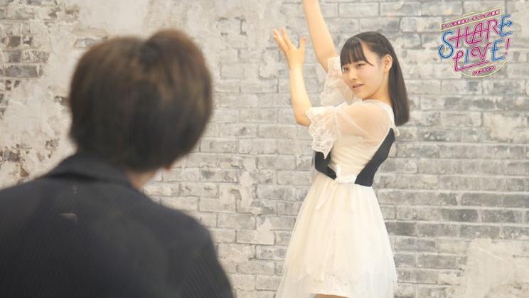 アイドル育成オーディション番組『SHARE LIVE!』場面写真より