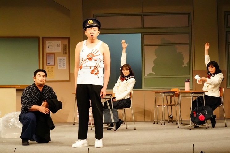 <3年B組皆川先生〜2.5時幻目〜>舞台写真より