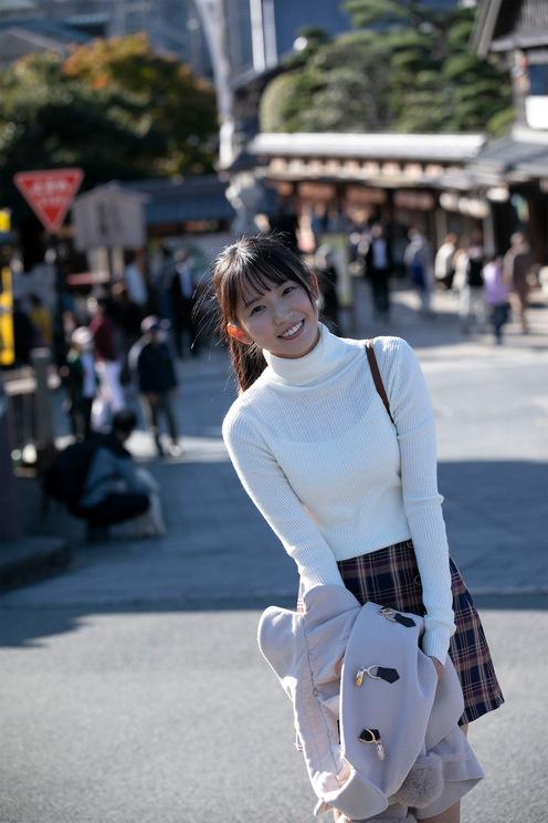 『SPA!デジタル写真集 志田音々 全力ピュア美少女』収録カット