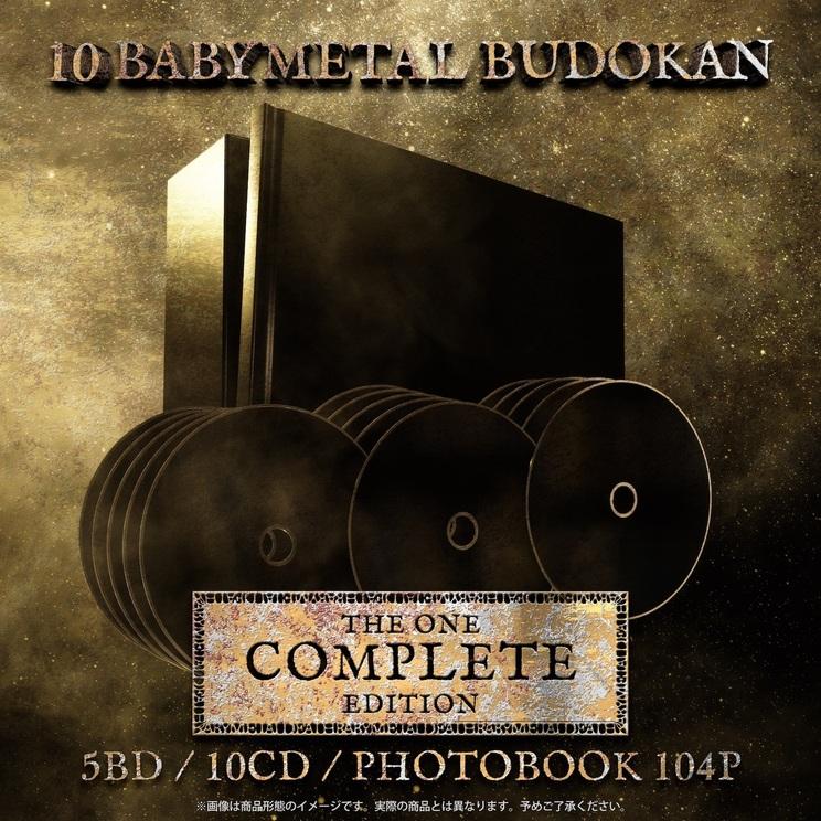 『10 BABYMETAL BUDOKAN』 -THE ONE COMPLETE EDITION-