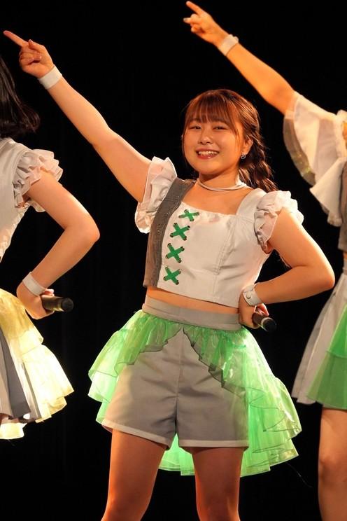 島崎友莉亜<アップアップガールズ(2)#でっ8にきちゃんわんだーらんど>表参道GROUND(2021年6月27日)