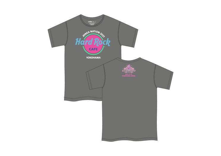 AYAKA NATION 2021 T-shirt(グレー)