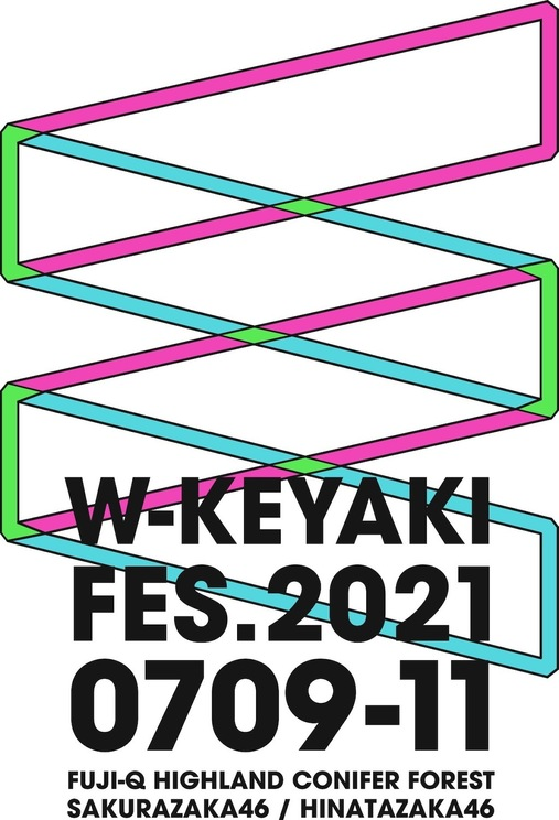 櫻坂46/日向坂46による合同ライブ<W-KEYAKI FES.2021>