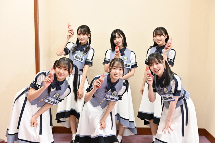 『STU48 イ申テレビ』番組画像(©東北新社)
