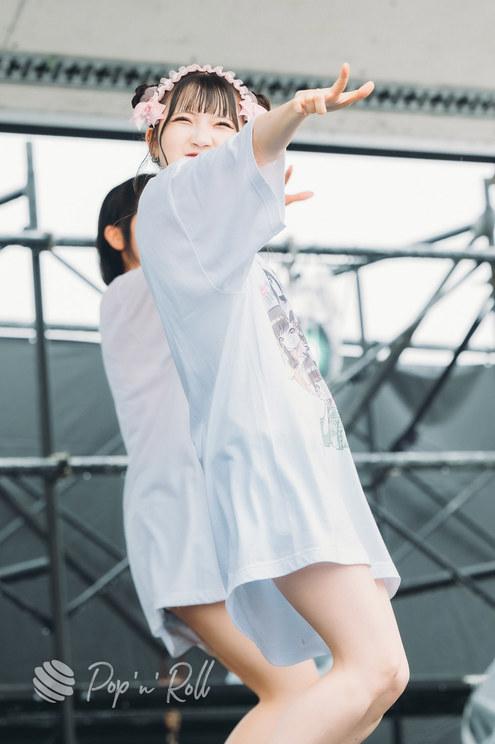 木内ゆうか(メイビーME)<超NATSUZOME2021>海浜幕張公演Gブロック(2021年7月4日)