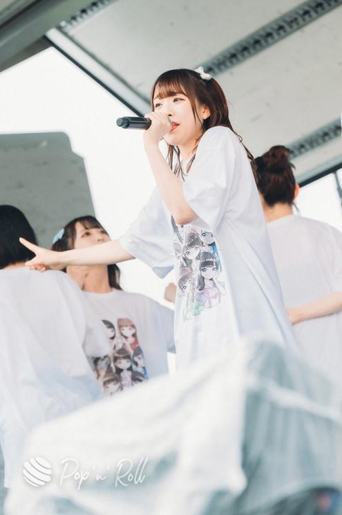 西野みやび(メイビーME)<超NATSUZOME2021>海浜幕張公演Gブロック(2021年7月4日)