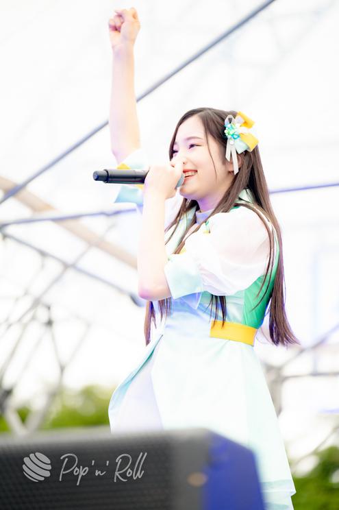 里仲菜月<超NATSUZOME2021>海浜幕張公演Gブロック(2021年7月4日)