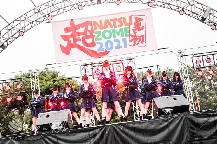 ラストアイドル<超NATSUZOME2021>海浜幕張公演Gブロック(2021年7月4日)