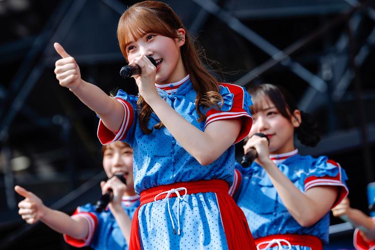 日向坂46<W-KEYAKI FES.2021>富士急ハイランドコニファーフォレスト(2021年7月10日/撮影:上山陽介)