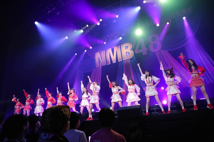 <NMB48 難波新鮮組公演>昼公演(©NMB48)