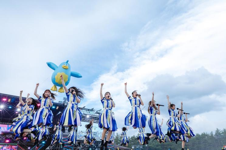 <W-KEYAKI FES.2021>富士急ハイランドコニファーフォレスト(2021年7月10日/撮影:上山陽介)