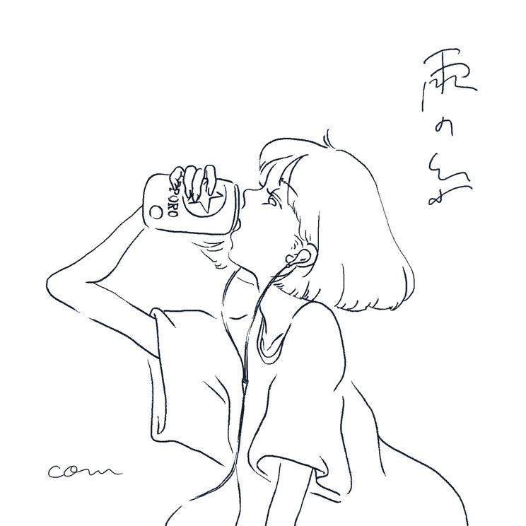 com 2ndデジタルシングル「雨の糸」