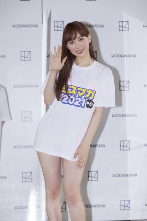 ナタリア聖奈(©講談社・ミスマガジン)