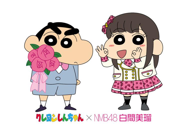 ©臼井儀人/双葉社・シンエイ・テレビ朝日・ADK ©NMB48