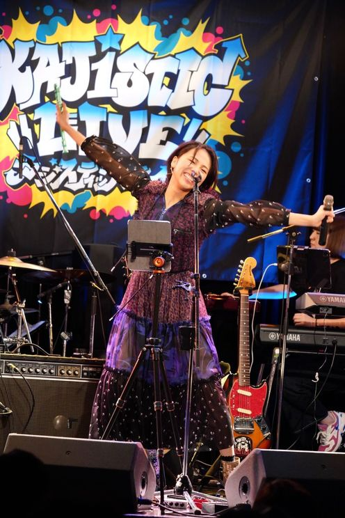 鍛治島彩(アップアップガールズ(2))ソロライブ<鍛治島彩 KAJISTIC LIVE 2222>東京・表参道GROUND(2021年7月22日)