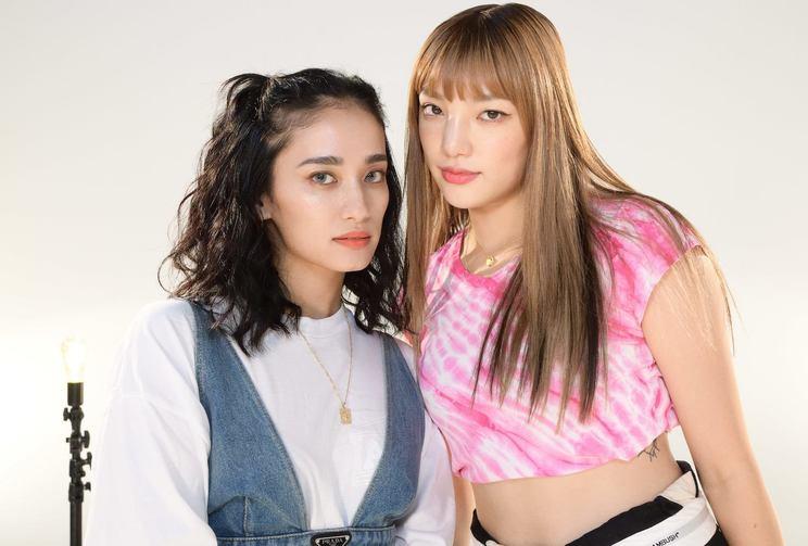 元E-girls YURINO、須田アンナ