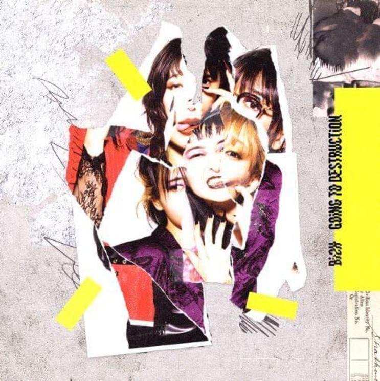 メジャー4thアルバム『GOiNG TO DESTRUCTiON』【CD盤】