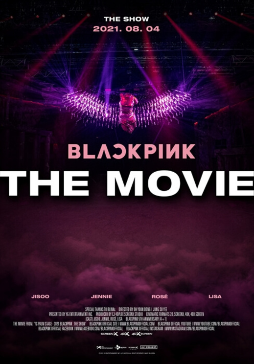 ©2021 YG ENTERTAINMENT INC. & CJ 4DPlex. ALL RIGHTS RESERVED. MADE IN KOREA