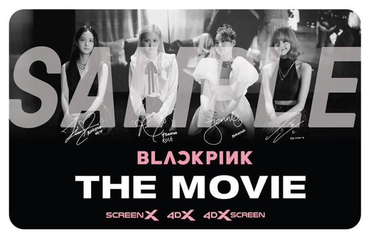 BLACKPINKメンバーサイン入りフォトカード※画像イメージ